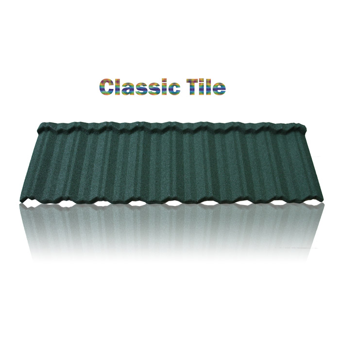 Perfect distribution channels zinc aluminum sheet, stone granule coated steel roof tile