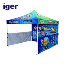 custom size metal frame wind resistant 4x4 folding event outdoor first up canopy tent