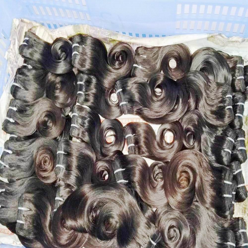 Unprocessed cuticle aligned bulk orders 100% natural 7A virgin indian human <strong>hair</strong> 10pcs/20pcs/30pcs Wholesale