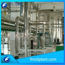 crude and refined rice bran oil producing machine