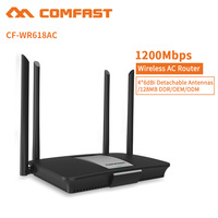 Comfast 192.168.0.1 Dual Band Wifi Fiber Optical AC Management Function Wireless Router CF-WR618AC