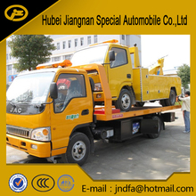 IZUSU Qingling flat bed road Wrecker towing truck JDF5070TQZPQL low bed tow truck wrecker tow trucks for sale HUBEI JIANGNAN
