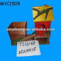 Painted wooden planters wholesale