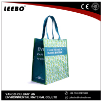 customized Handle shopping bag non woven