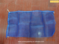 Plastic mesh bag for packing vegetables