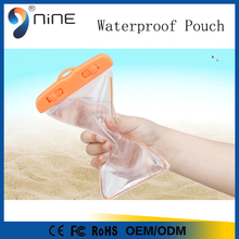 Fashion PVC waterproof phone bag/promotional waterproof case for iphone