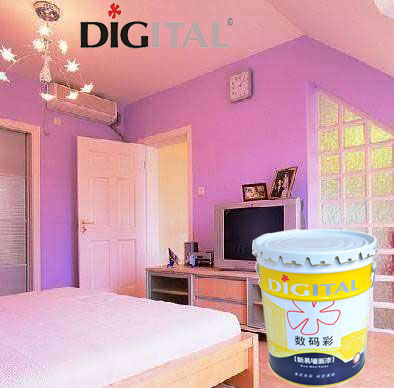 Good Antibacterial Effect Strong Hiding Power Interior Wall Texture Polyester Spray Coating Paint