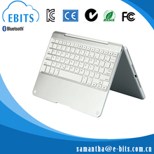Hot sale individual design fancy colorful swivel bluetooth tablet keyboard
