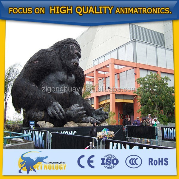Cetnology Lifelike Amusement Park Decoration Giant King Kong Toy
