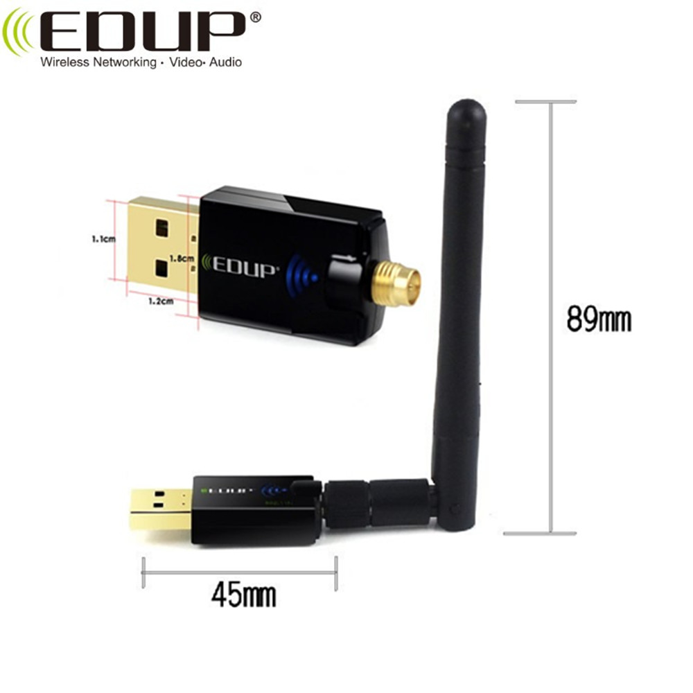EDUP AC-1607 600Mbps usb wifi dongle lan adapter wifi USB adapter