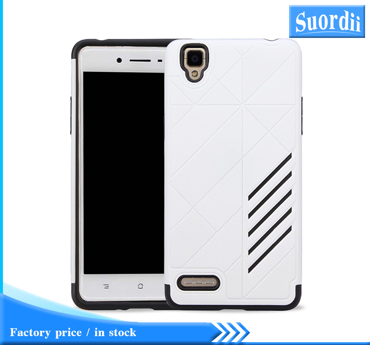 SUD Bumper 2 in 1 TPU+PC Armor Back Phone Case Cover for OPPO NEO5/A31