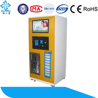 outdoor drinking pure water vending machine/reverse osmosis coin operated water dispenser