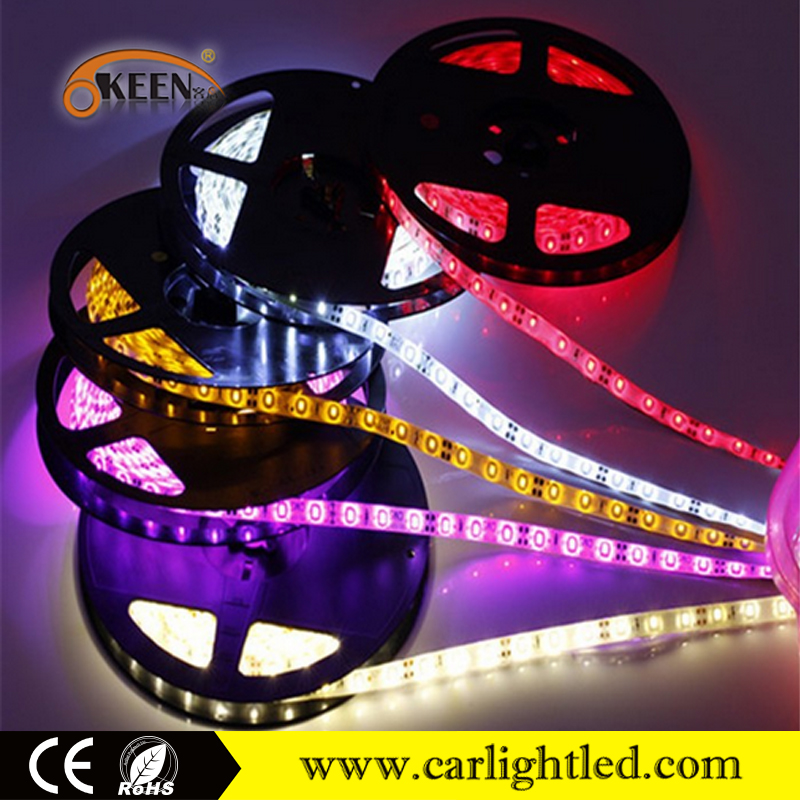 12V 3528-300SMD 5M/roll White/red/blue Waterproof IP65 decorative Car Home Flexible Led Strip Light Lamp
