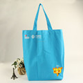 China wholesale factory price custom logo print canvas tote bag for advertising and shopping use