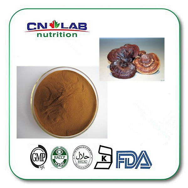 Health care Natural colour plant bottom price mushroom ganoderma extract triterpene