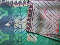 Indian Vintage Kantha Throws QUILTS