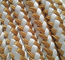 factory direct sale triple doule braided nylon polyester rope yacht rope with high quality