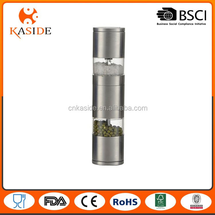 Most popular trendy style manual malt & pepper mill directly sale