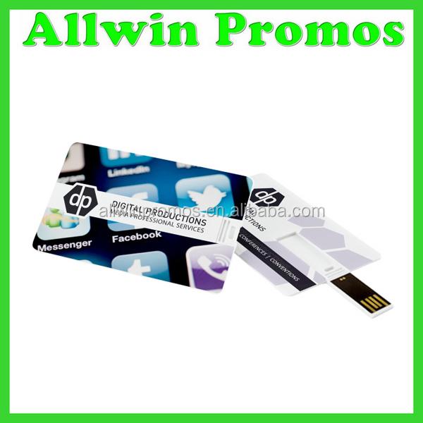 Custom printing business card usb flash drive buy for Business card usb flash drive