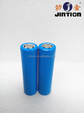 Li-ion 18650 3.7v 1000mAh rechargeable battery