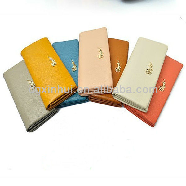 2017 hot selling wallet case for iphone 5 Simple fashion wallet