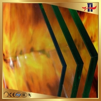 Durable hot selling supply fireproof glass