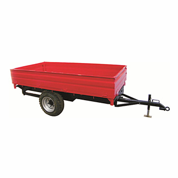 500kgs-4000kgs Hydraulic Tipping Trailer , farm trailer for tractor