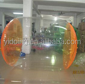 Newest small inflatable walk on water ball for indoor swimming pool D1002-26D