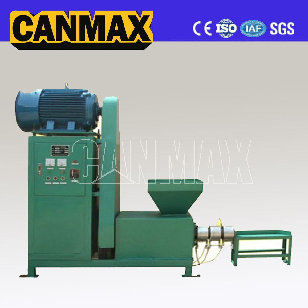 Low consumption used sawdust briquette press machine/raw materials in charcoal briquette/biomass briquette stove