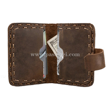 Personalized Genuine Leather Mens Wallet wholesale set of card holder wallet