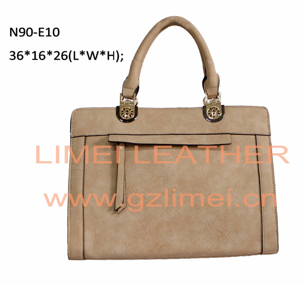 Guangzhou quality leather bags 2016 woman leather bag vintage leather bag