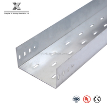 perforated hot dip galvanized steel cable tray