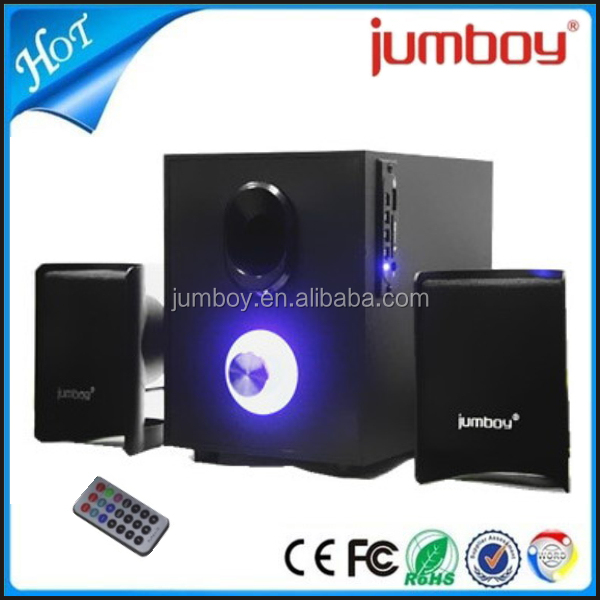 very low price wooden computer 2.1 ch home theatre sound speaker system