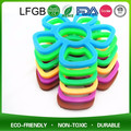 Lovely Candy Colours Silicone Button Heat Insulate anti-slip cup Mat Coasters