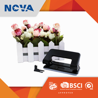 Stationery from China 2 hole manual metal home paper punch for binding