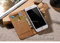 TPU cell phone case for iphone 6 / clear phone case genuine leather wallet case