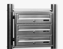 Hot sale in Germany market 304 Stainless Steel Apartment outdoor mailboxes with stand