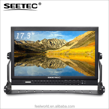 Seetec17 inch monitor size with true full HD 1920x1080 for TV station