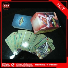 Custom Printing Game Card Paper Trading Card Game/Children Educational Custom Game Card Printing