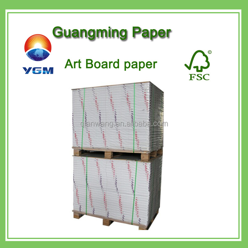 high gloss C2S coated art paper /printing paper for making calendar