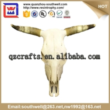 OEM/ODM custome made and resin animal cow skull for decoration