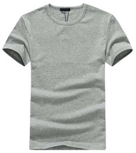 New style short sleeve blank t-shirt for heat press cotton