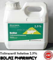 Toltrazuril Solution 2.5% Anticoccidial drug for Chicken coccidiosis