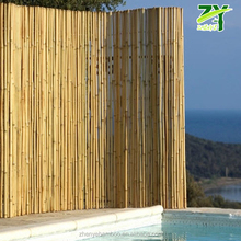 HOT ! ZY-2100 Cheap Bamboo Fencing Bamboo Roll up Screen Cheap Natural Bamboo Fencing Roll Factory Wholesale Pricing !