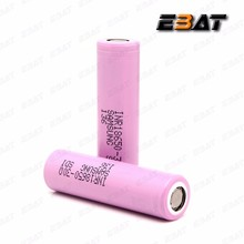 Pink power cell 3.7v 3000 mah samsung sdi inr 18650 30q 3.6v ni-mh sc rechargeable battery