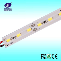 Made in China wholesale new products 2016 highlight 40-50LM/m 18W/meter SMD 5630 72 leds/meter rigid LED strip for lightbox