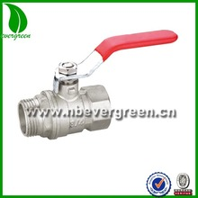 1 inch dn 20 ball valve male to female brass ball valve