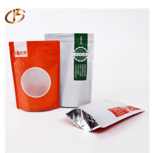 EU Standard Food Grade Colorful Printing Stand up Zipper Foil Mylar Zip Lock Bags