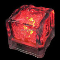 New cooling water activated plastic led light ice cubes for party Bar ornaments