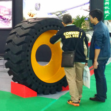 hot sale made in China solid tyres wheel loaders tires 23.5-25